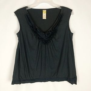 C. Keer By Anthropologie Charcoal Gray Sleeveless